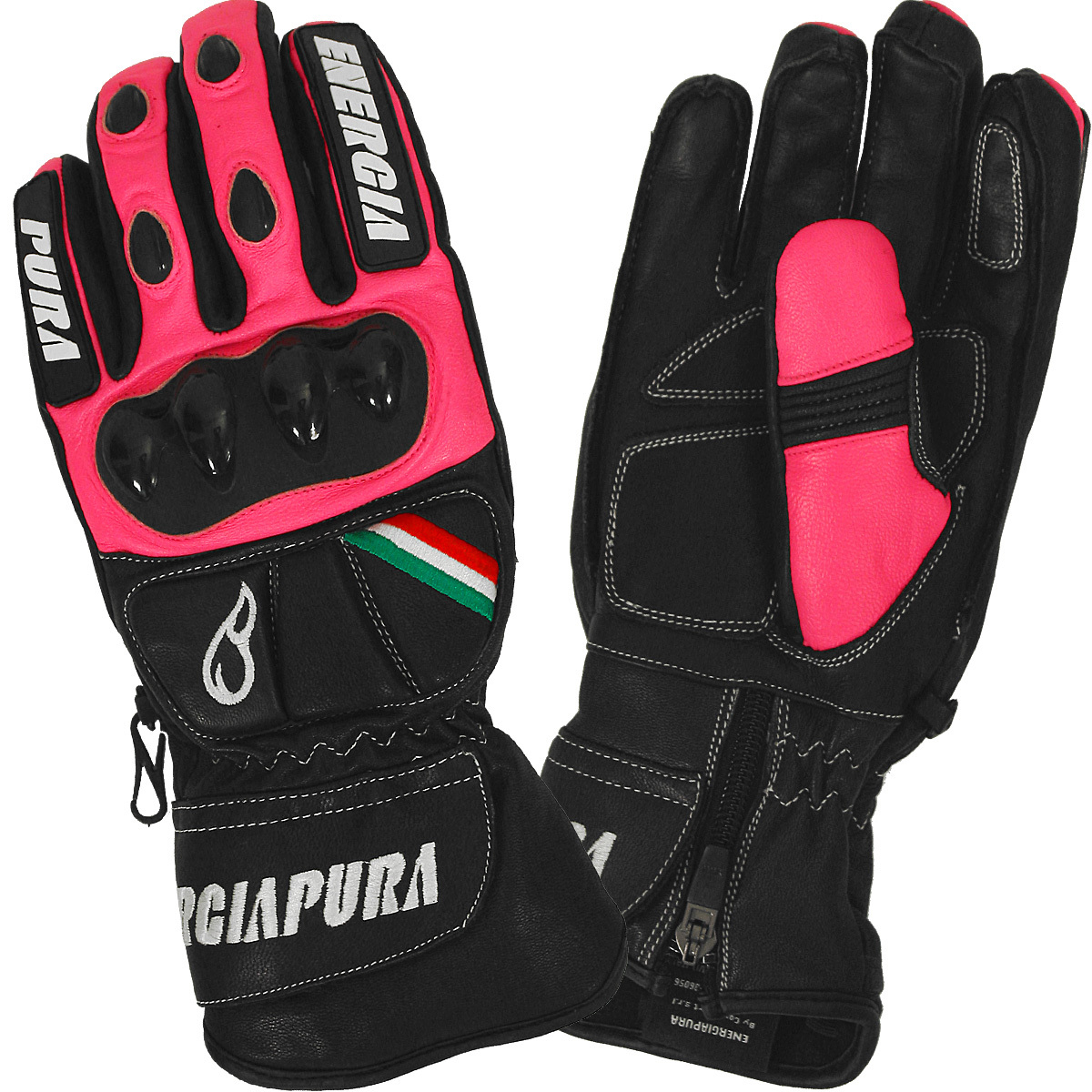 Energiapura Gigante Bicolor Leather Gloves W/Prot