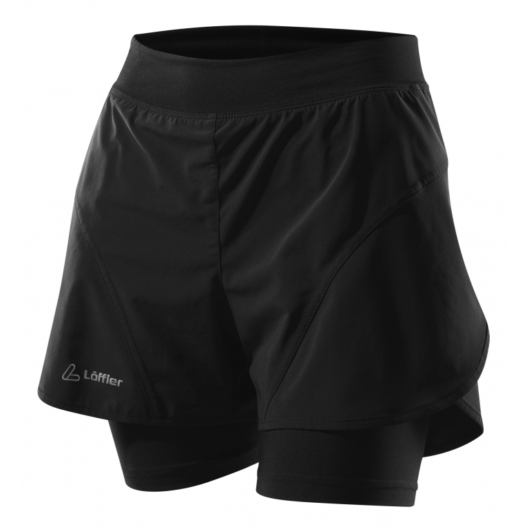 Löffler Ladies Shorts 2v1 Superlite