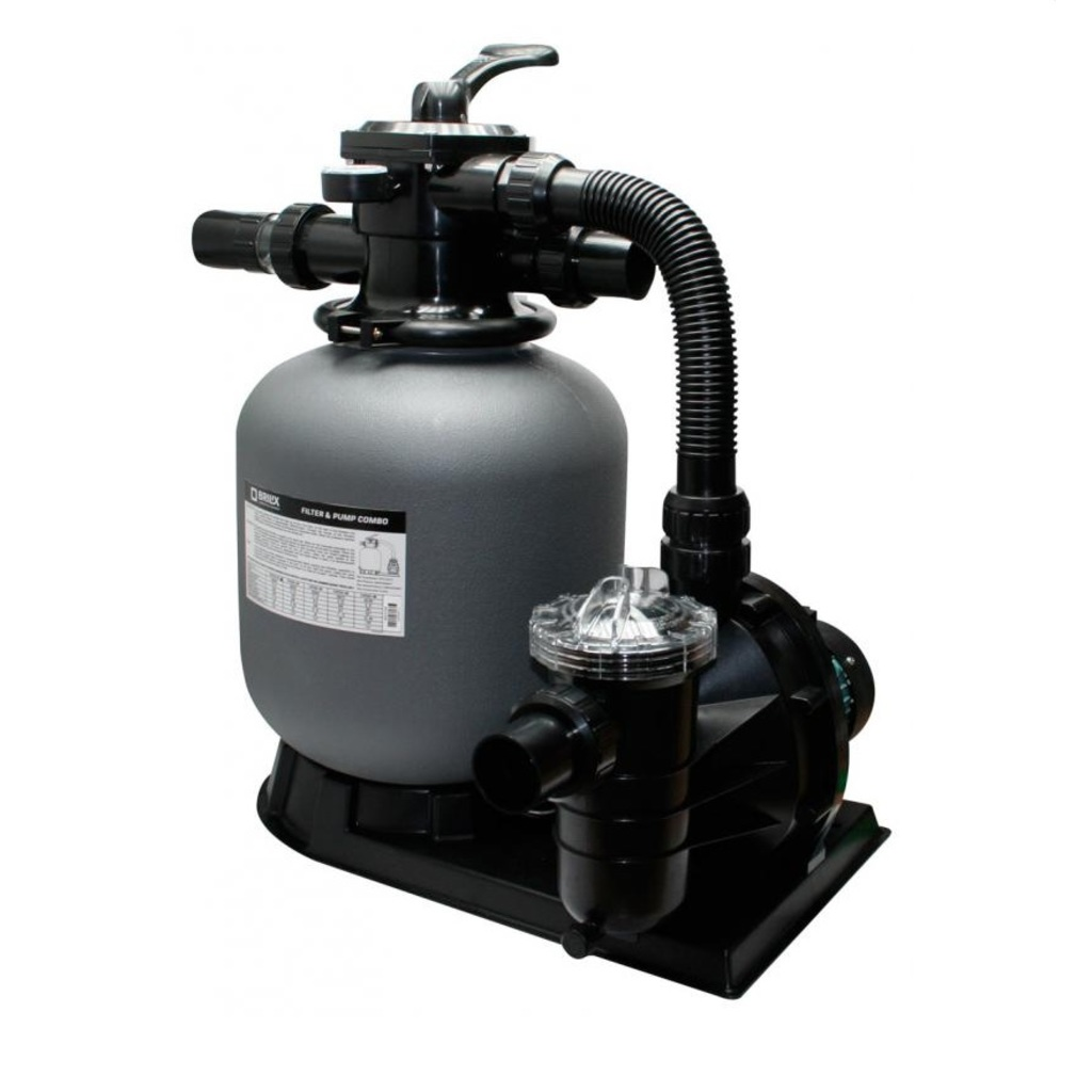 BRILIX Complete Sand Filter System FSP-350 for 24m3 Pool/Schwimming
