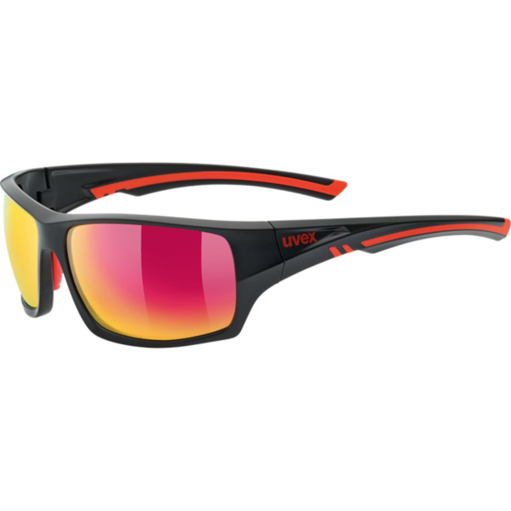 Uvex Sportstyle 222 Pola Black/Mat/Red
