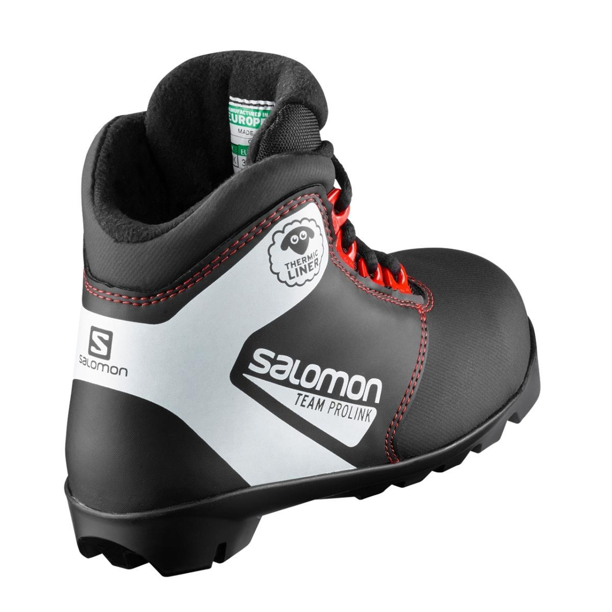 Topánky na bežky Salomon Team Prolink JR ec5b855aa8b