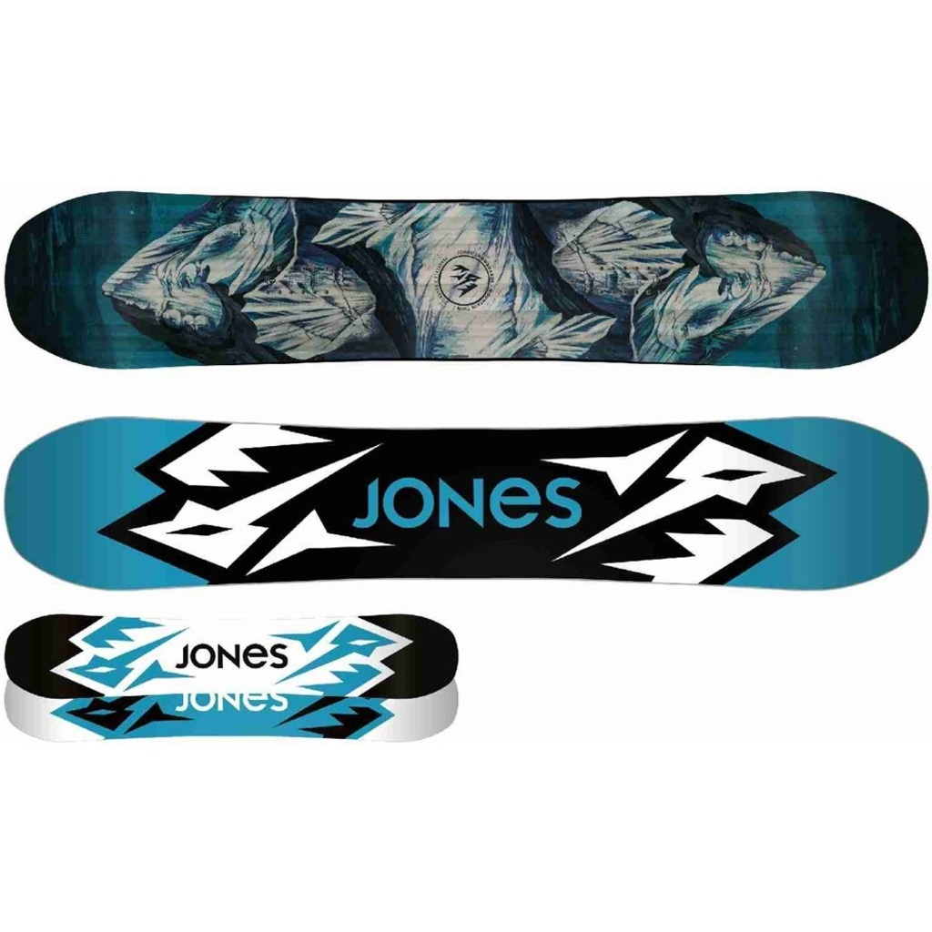 Jones Mountain Twin Blue