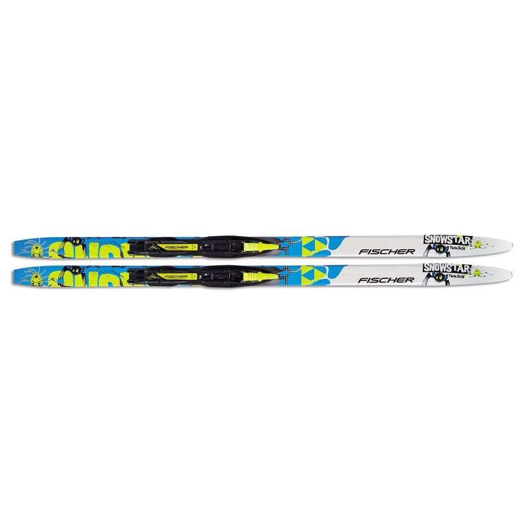 Fischer Twin Skin Snowstar Junior Set
