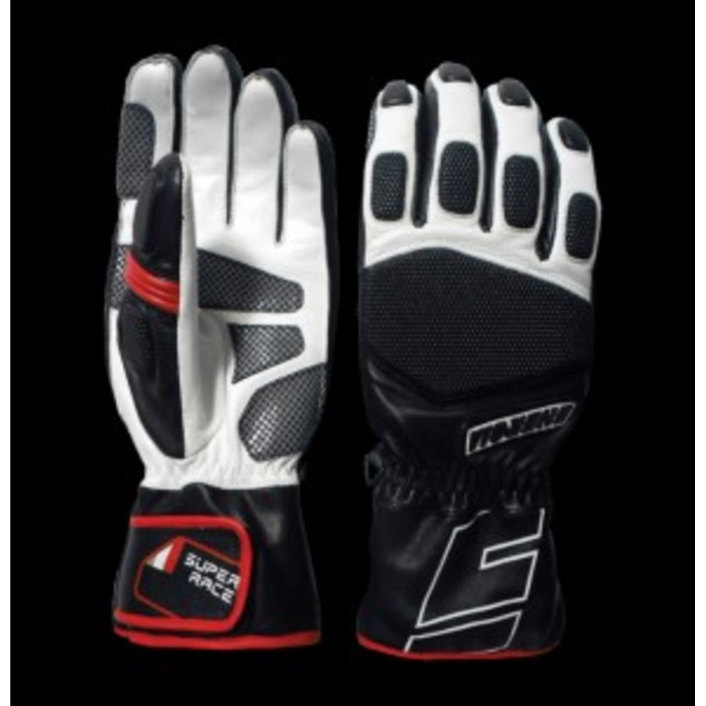 Energiapura Leather Super Gloves with Protectors