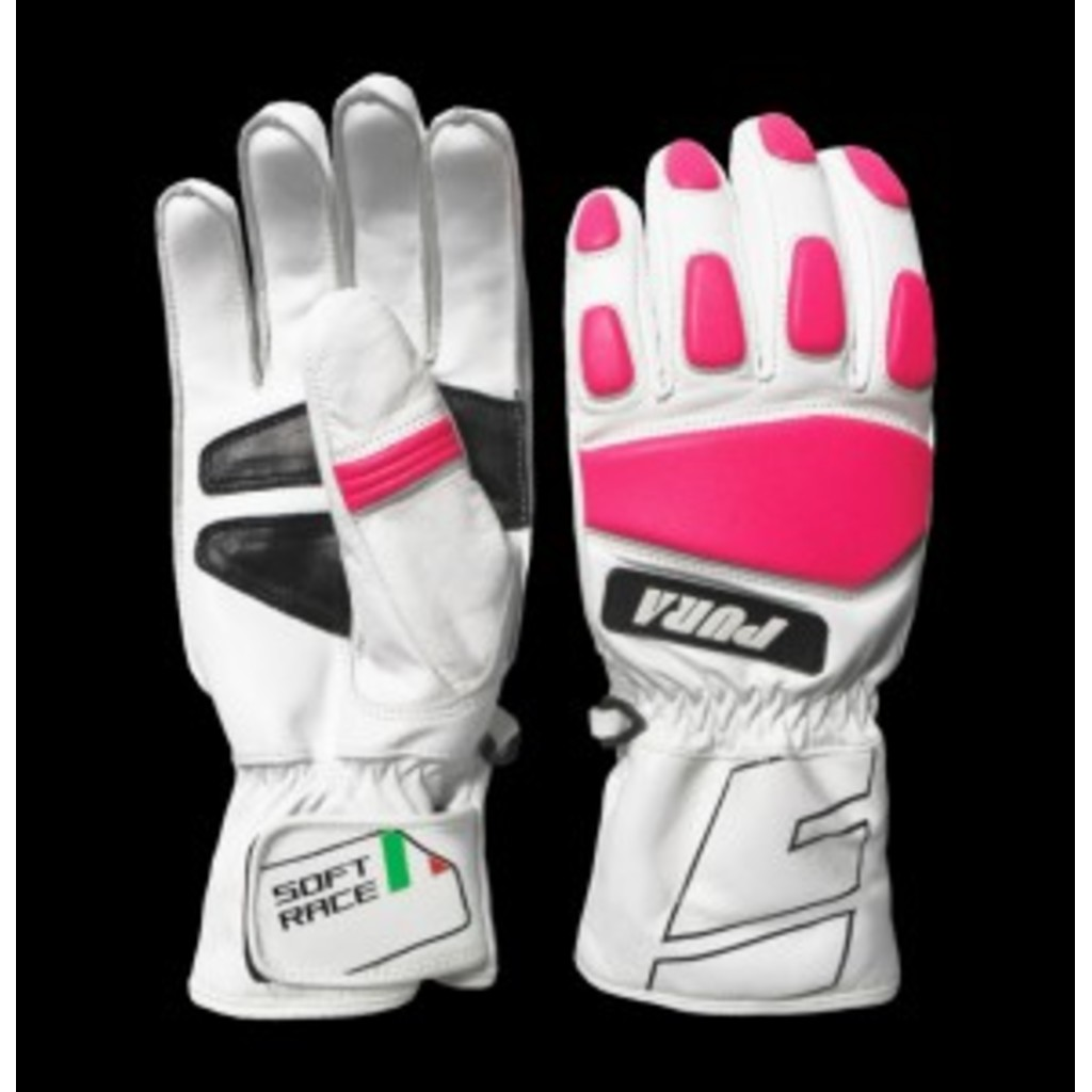 Energiapura Leather Soft Race Gloves with Protectors W