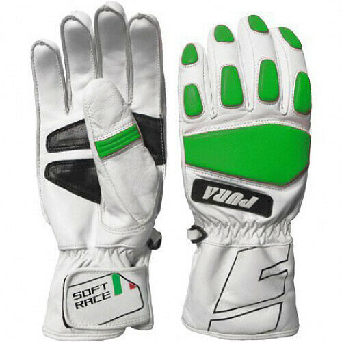 Energiapura Leather Soft Race Gloves with Protectors
