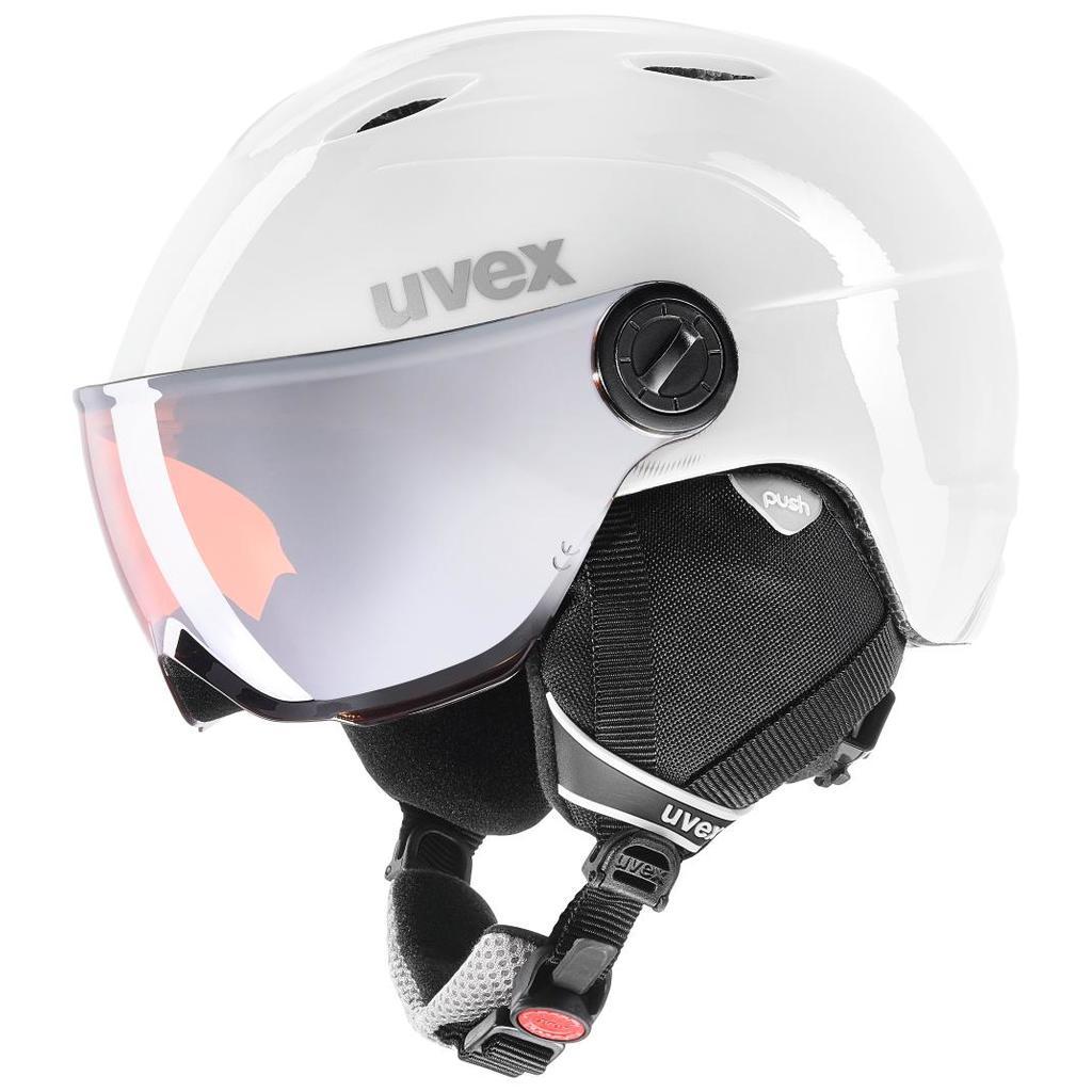 27c9fecc8 Uvex Junior Visor Pro. Lyžiarske prilby ...