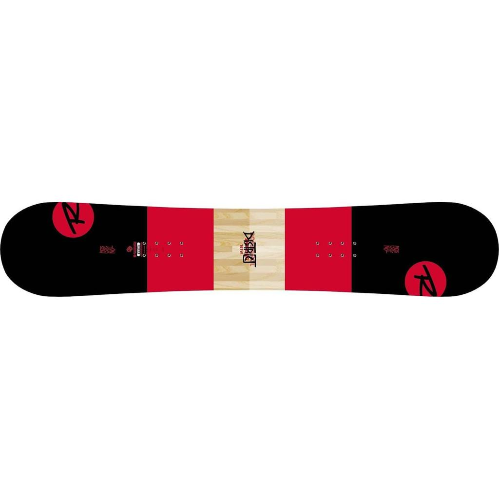 Rossignol District Black/Red Wide