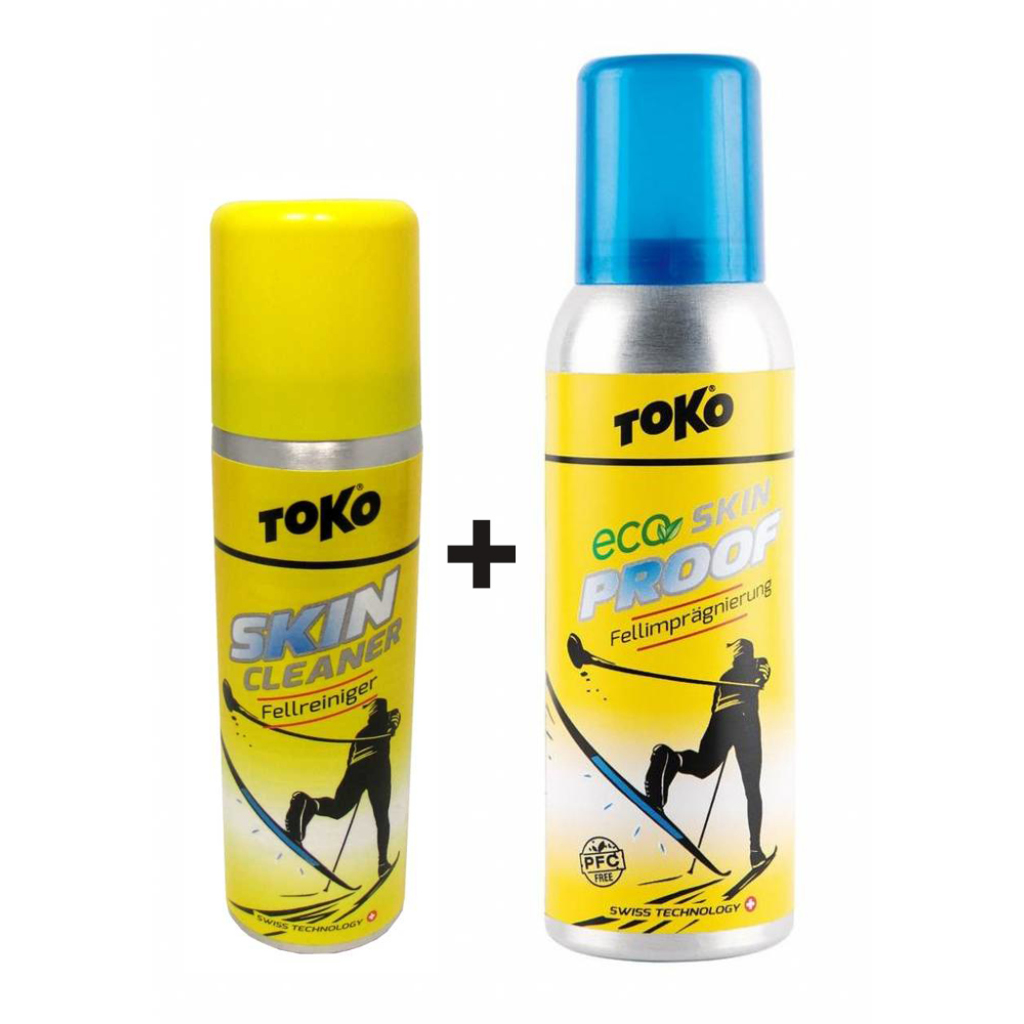 Toko Skin Set (Eco Skin Proof 100ml, Skin Cleaner 70ml)