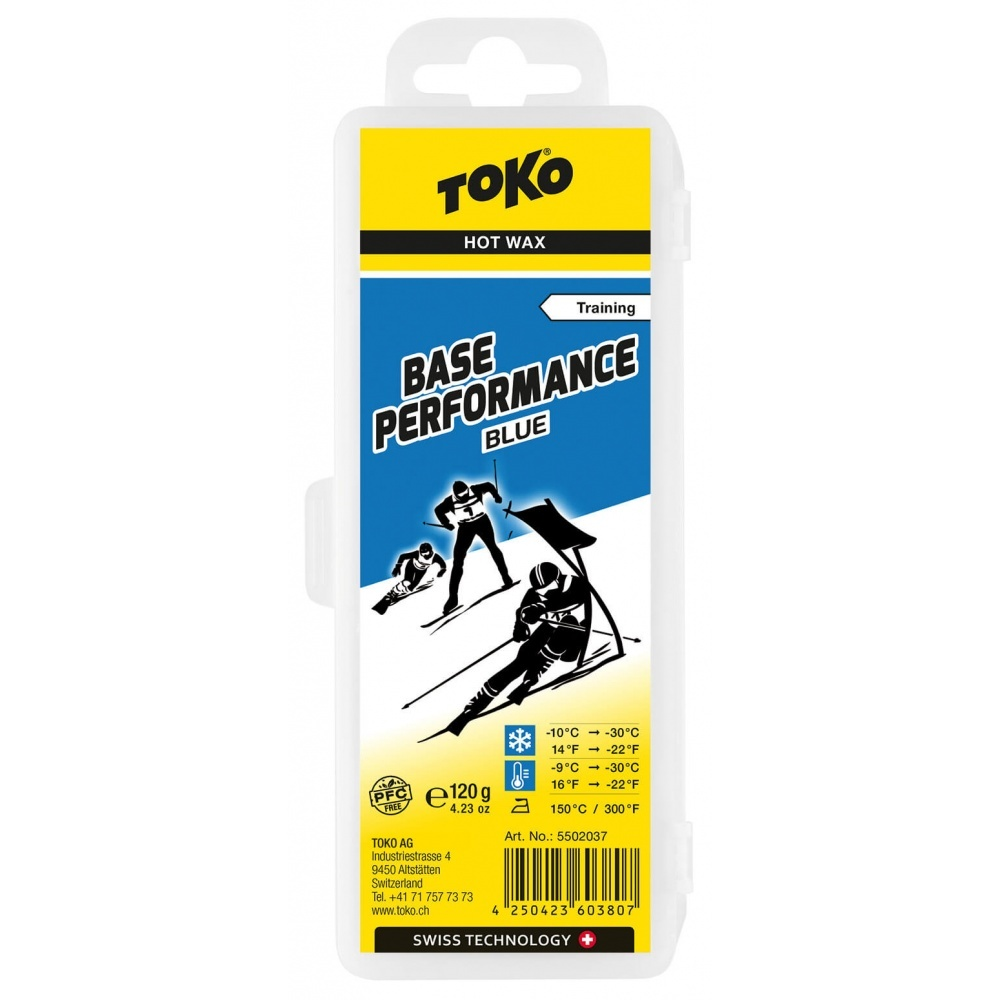 Toko Base Performance Hot Wax blue 120g