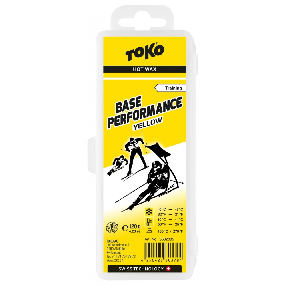 Toko Base Performance Hot Wax yellow 120g