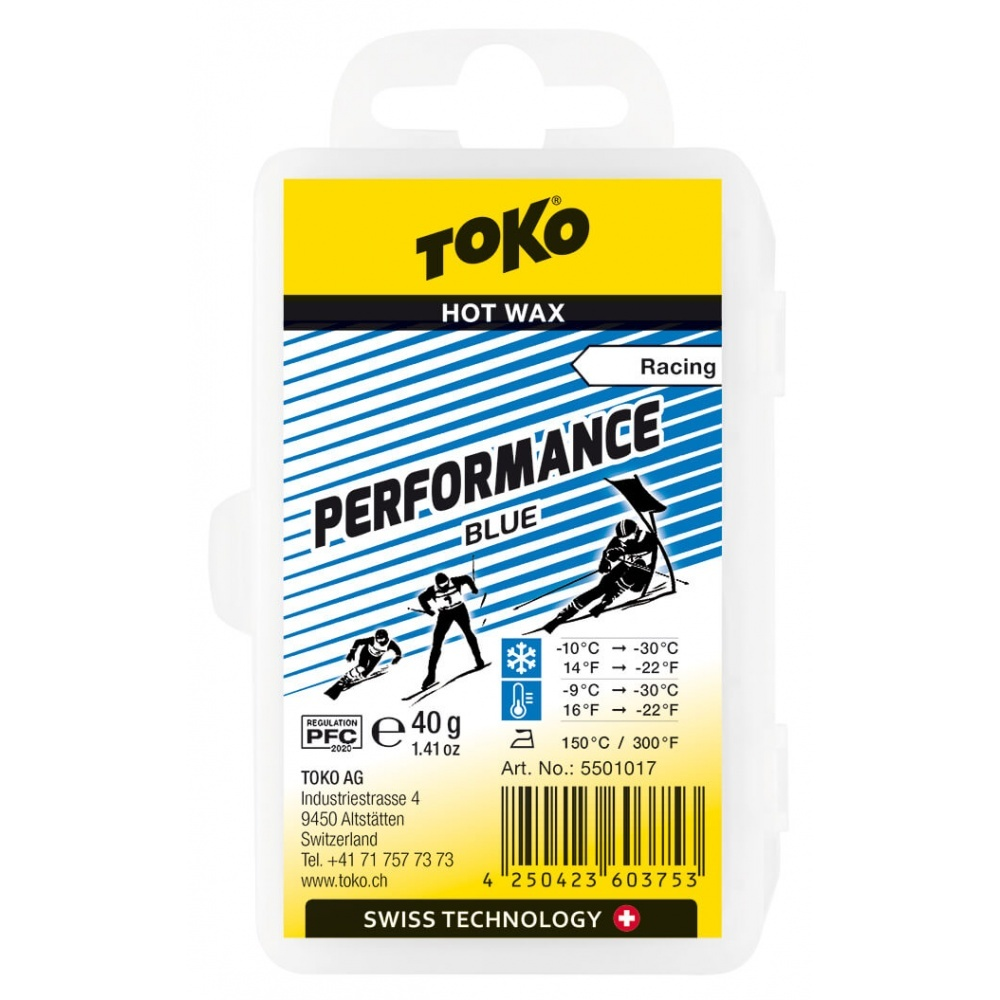 Toko Performance Hot Wax blue 40g