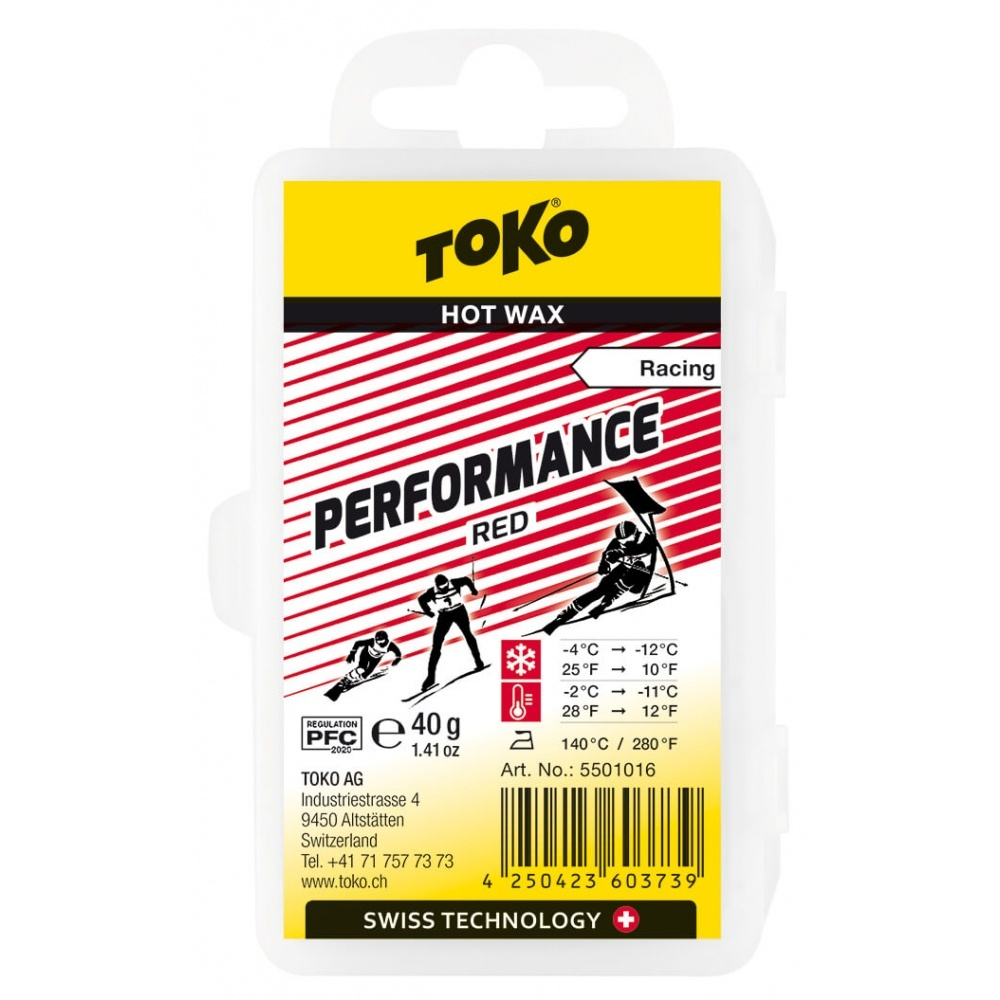 Toko Performance Hot Wax red 40g