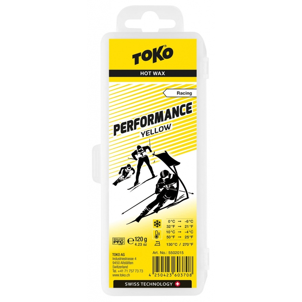 Toko Performance Hot Wax yellow 120g