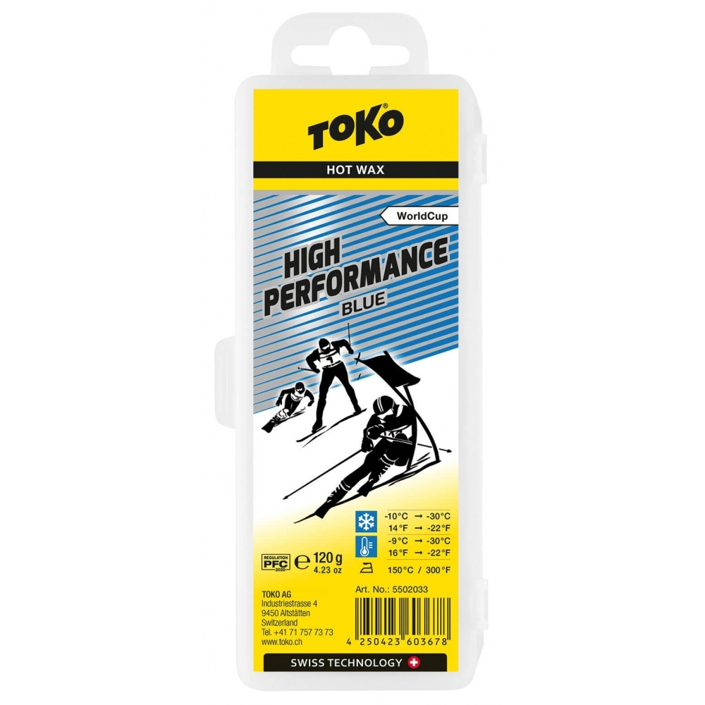Toko Toko High Performance Hot Wax Blue 120g